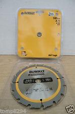 DEWALT DT1948 (DT1208) 165MM x 20MM BORE 16T  TCT SAW BLADE DC390 DCS391