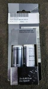 NEW BMW Touch Up Paint / 51910419794 / 415 Bright Red II and Clear Coat