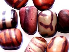 X1 Genuine Natural Print Stone Jasper Crystal Tumbled Stone