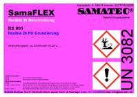 SAMAFLEX BS901 Flexible 2k PU Grundierung klare Beschichtung biegsame Fläche