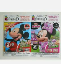 Colorforms Mickey Mouse and Minnie Mouse Disney Junior brand new Set Of 2
