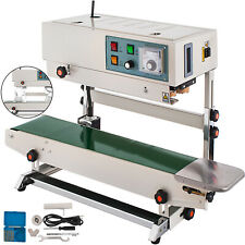 Automatic Vertical Continuous Plastic Bag Band Sealer Sealing Machine Package