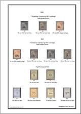 -Album de timbres Madagascar 1889-1957 à imprimer
