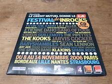 KLAXONS - THE KOOKS - JOAN AS A POLICE WOMAN - MUMM-RA !! RARE CD