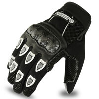 Motocross MX Gloves Racing Motor Cycling, Offroad, Enduro, MTB, BMX Black 1093 M
