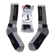 Oxford OxSocks Motorbike Motorcycle Thermal High Shin Padding Socks Twin Pack