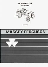 Massey Ferguson MF50A MF 50ATractor Parts Manual