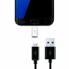 2Pack USB-C Type-C to Micro USB Data Charging Adapter For Samsung Galaxy Note 7