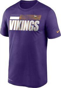 Minnesota Vikings Men's Nike Legend Performance Tee - NWT - FREE SHIPPING!