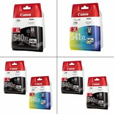 Genuine Canon PG-540XL & CL-541XL Ink Cartridges For Canon PIXMA Printers