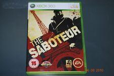 the saboteur PAL UK XBOX 360