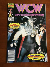WCW WORLD CHAMPIONSHIP WRESTLING # 12 VG/FINE MARVEL COMICS 1993 NEWSSTAND VADER