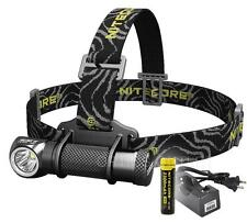 Nitecore HC30 1000 Lumen Cree XM-L2 LED Headlamp with 18650 Battery & Charger