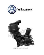 Volkswagen Touareg 2012-2016 Coolant Thermostat Bypass Genuine 059121737AM
