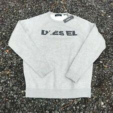 DIESEL GREY SWEATSHIRT MEN'S NEW SIZE XL