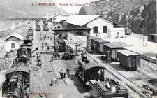 CPA 66 PORT-BOU : MUELLE DEL GANADO. (TRAINS EN GARE