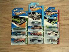 Hot Wheels TREASURE HUNT NICE Lot of 10 - Corvette, Malibu, Subaru, Camaro, 442