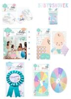 Baby Shower Photo Booth Selfie Props Unisex Boy Girl Gender Reveal Party Games