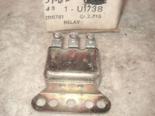 Horn Relay, NOS GM 1116781.  53-66 Chevy, Corvair, Corvette, Olds