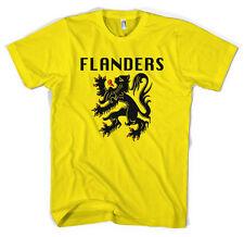 Flandes Bandera Giro Tour De France Ciclismo Jersey Unisex T Shirt Todos Los Tamaños