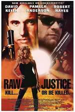 RAW JUSTICE Movie POSTER 27x40 David Keith Pamela Anderson Robert Hayes Leo