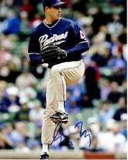 Greg Maddux Signed San Diego Padres 8x10 inch Photo - 2014 Hall of Fame Inductee