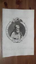 1775 Effigie di Papa Giulio II della Rovere, Pontefice da Albisola/Savona
