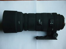 SONY A MOUNT Sigma APO DG HSM 120 - 400 mm F/4.5-5.6 Lens + HOOD + CAPS + BOX