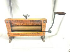 Anchor Brand Antique Easy Photo Press No 312 Lovell Manufacturing Co.RARE