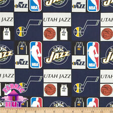 NBA Utah Jazz Cotton Fabric