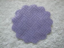 New! FISHER PRICE Loving Family Dollhouse PURPLE RUG CARPET for Bedroom Kitchen