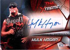 TNA Hulk Hogan X56 Tristar Xtreme 2010 RED Authentic Autograph Card SN 5 of 5