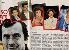Z50 Ritaglio Clipping 1984 Intervista Jean Louis David