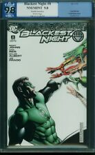 BLACKEST NIGHT 8 PGX 9.8 Johns Reis GREEN LANTERN Retailer Incentive CGC 2010