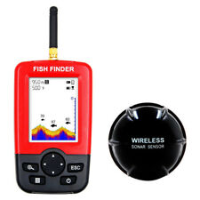 Outlife Smart Portable Fish Finder+Wireless Sonar Sensor for Lake Sea Fishining