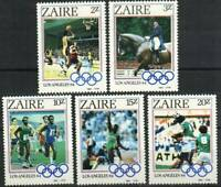 Zaire Stamp - 84 Summer Olympics Stamp - NH