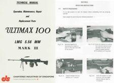 Chartered Industries 1984 Ultimax 100 Machine Gun Manual, Singapore