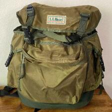 LL Bean Continental Rucksack Backpack! Vintage Army Green! Nylon