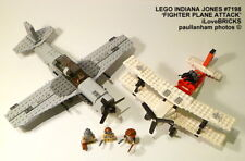 LEGO INDIANA JONES FIGHTER PLANE ATTACK SET 7198 100% COMPLETE GUARANTEE