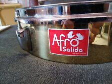 """Afro Salide Brass Timbale 13"""""""