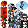 "Print Wood Board Deck Complete Skateboard 31""x8"" Adult Kids Street Board Gift U4"