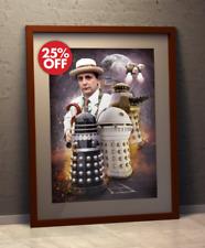 Doctor Who 7th Doctor Who-SYLVESTER McCoy RICORDO DEI I Dalek