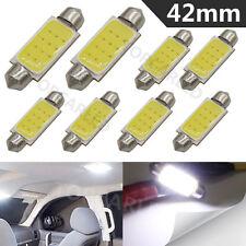 8 pcs 3W high power COB led White LED 41/42mm 211 212-2 214-2 6413 Polarity Free