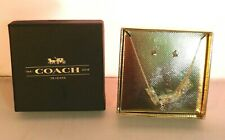 COACH Star Necklace & Earring Boxed Set #56429 Silver 75th Anniversary STAR