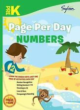 Pre-K Page Per Day: Numbers (page Per Day Math): By Sylvan Learning