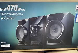 Sony MHC-EC77 BT  Hi-Fi Stereoanlage MP3 System mit FB