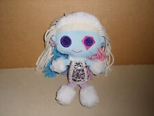 Monster High Plush Doll Abbey Bominable 2010 Mattel Yarn Hair 9'' EXCELLENT