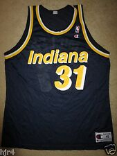 Reggie Miller #31 Indiana Pacers NBA Finals Champion Jersey 48 vintage