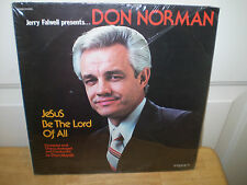 """DON NORMAN....""""JESUS BE THE LORD OF ALL""""......NEW SEALED GOSPEL ALBUM"""