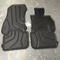 BMW Genuine All Weather Rubber Front+Rear Set Car Floor Mats F48 X1 51472406753